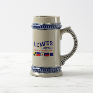 Lewes, DE 18 Oz Beer Stein