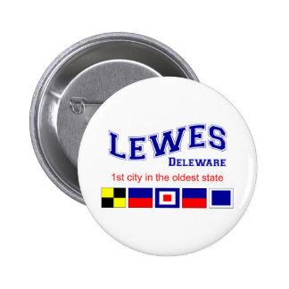 Lewes, DE Pinback Button