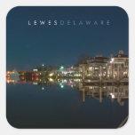 Lewes Delaware. Square Sticker