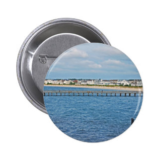 """Lewes Harbor from ferry"" collection Button"