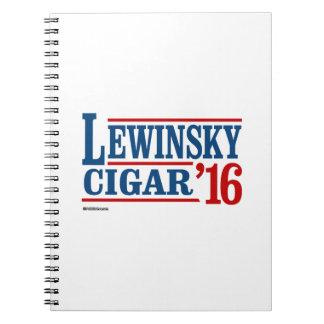 Lewinsky Cigar 2016 Notebook
