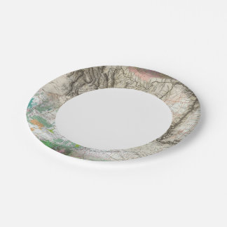 Lewis and Clark 7 Inch Paper Plate
