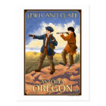 Lewis and Clark - Astoria, Oregon Postcard