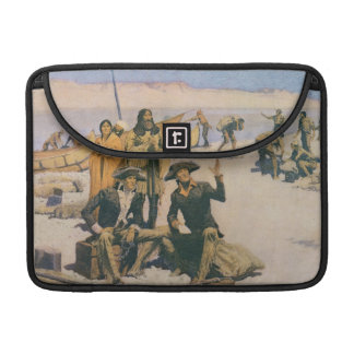Lewis and Clark at the Columbia River Sleeves For MacBooks