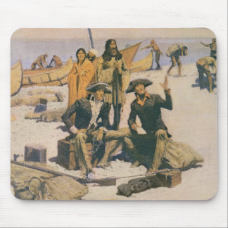 Lewis and Clark at the Columbia River Mouse Pad