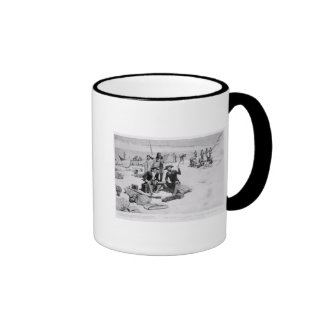 Lewis and Clark at the mouth of the Columbia Ringer Mug