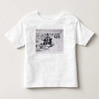 Lewis and Clark at the mouth of the Columbia Toddler T-shirt