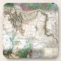 Lewis and Clark Beverage Coaster