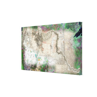 Lewis and Clark Canvas Print