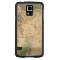 Lewis and Clark Carved Maple Galaxy S5 Case