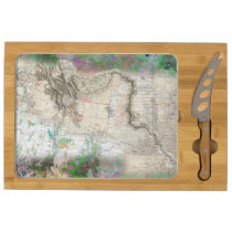 Lewis and Clark Cheese Board