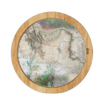 Lewis and Clark Cheese Platter