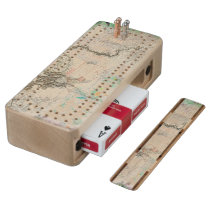 Lewis and Clark Cribbage Board