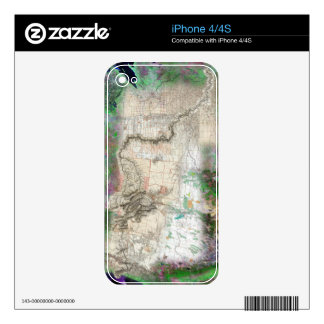 Lewis and Clark Decals For iPhone 4S
