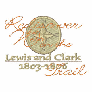 Lewis and Clark Embroidered Hoody