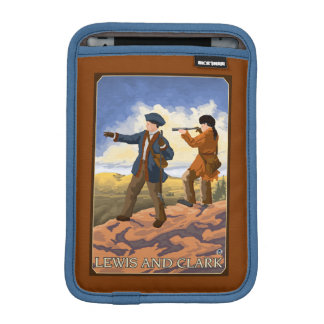 Lewis and Clark Exploring the West Sleeve For iPad Mini
