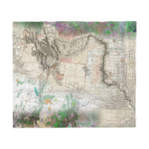 Lewis and Clark Fleece Blanket