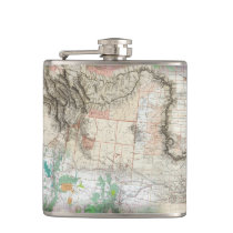 Lewis and Clark Hip Flask