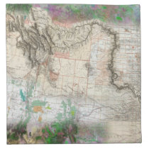 Lewis and Clark Napkin