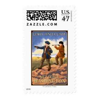 Lewis and Clark - Nez Perce, Washington Postage