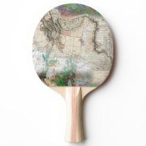 Lewis and Clark Ping-Pong Paddle