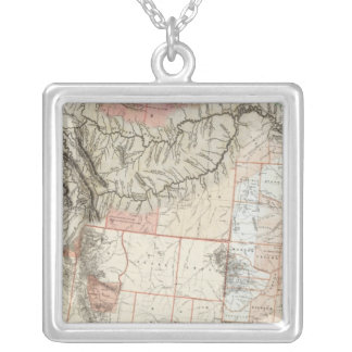 Lewis and Clark Silver Plated Necklace