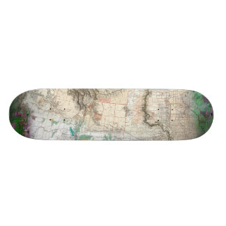 Lewis and Clark Skateboard Deck