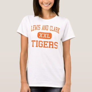 Lewis And Clark - Tigers - High - Spokane T-Shirt