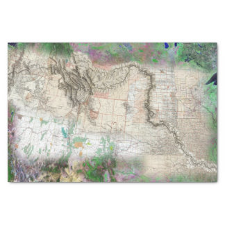 Lewis and Clark Tissue Paper