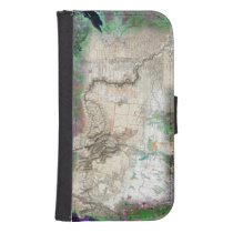Lewis and Clark Wallet Phone Case For Samsung Galaxy S4