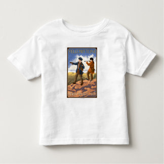 Lewis and Clark - Yellowstone National Park Toddler T-shirt