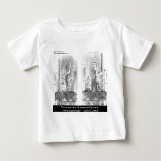 Lewis Carroll Graphic & Famous Quote Baby T-Shirt