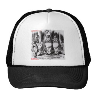 Lewis Carroll Graphic Famous Quote Trucker Hats