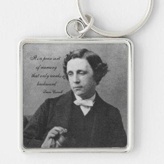 Lewis Carroll Keychain