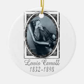 Lewis Carroll Christmas Tree Ornaments