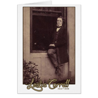 Lewis Carroll Photo 2 Greeting Card