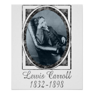 Lewis Carroll Póster