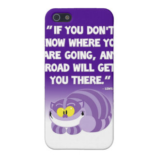 Lewis Carroll Quote Cheshire Cat iPhone Case