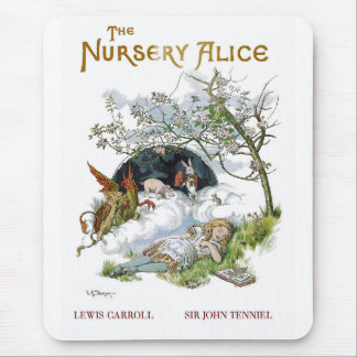 "Lewis Carroll, ""The Nursery Alice"" Mouse Pad"