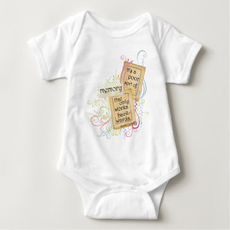 Lewis Carroll's Thoughts Memory Baby Bodysuit