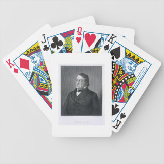 Lewis Cass, engraved by William G. Jackman (fl.c.1 Bicycle Playing Cards