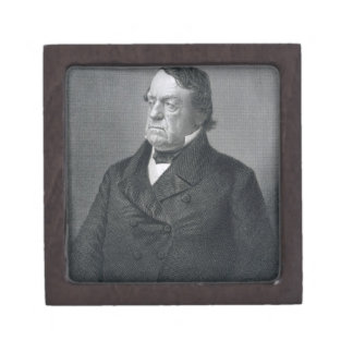 Lewis Cass, engraved by William G. Jackman (fl.c.1 Jewelry Box