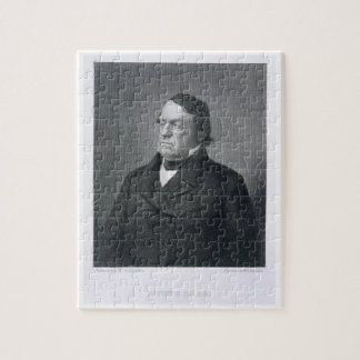 Lewis Cass, engraved by William G. Jackman (fl.c.1 Jigsaw Puzzle