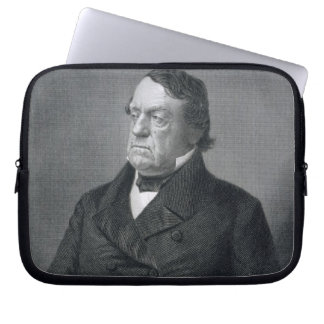 Lewis Cass, engraved by William G. Jackman (fl.c.1 Laptop Sleeve