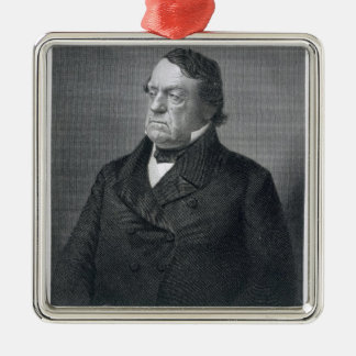 Lewis Cass, engraved by William G. Jackman (fl.c.1 Metal Ornament