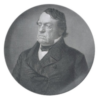 Lewis Cass, engraved by William G. Jackman (fl.c.1 Plate