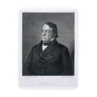 Lewis Cass, engraved by William G. Jackman (fl.c.1 Rectangular Photo Magnet