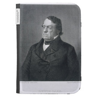 Lewis Cass, grabado por Guillermo G. Jackman (fl.c