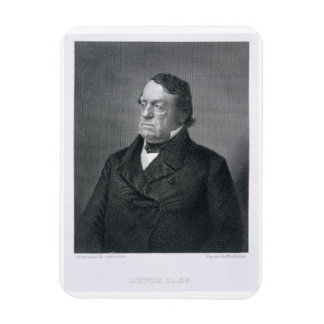 Lewis Cass, grabado por Guillermo G. Jackman (fl.c Imanes