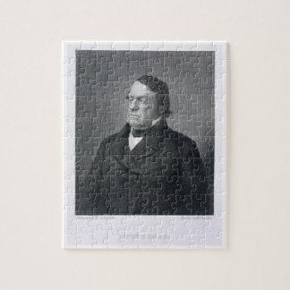 Lewis Cass, grabado por Guillermo G. Jackman (fl.c Puzzles